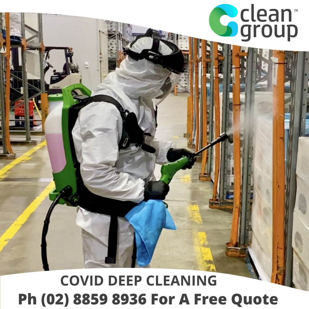 Covid cleaning Sydney