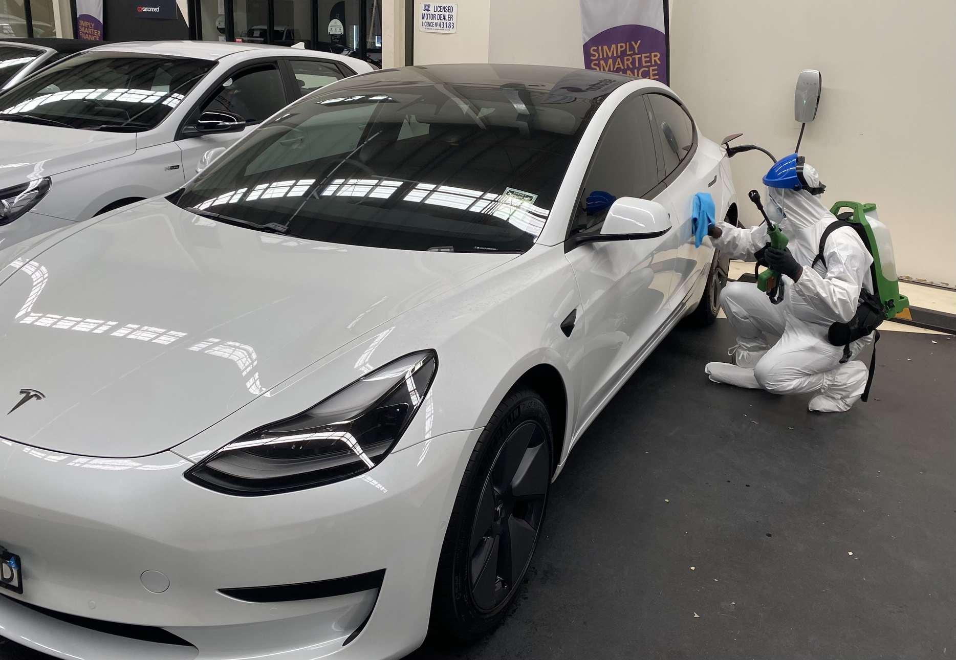 Car COVID Cleaning Sydney