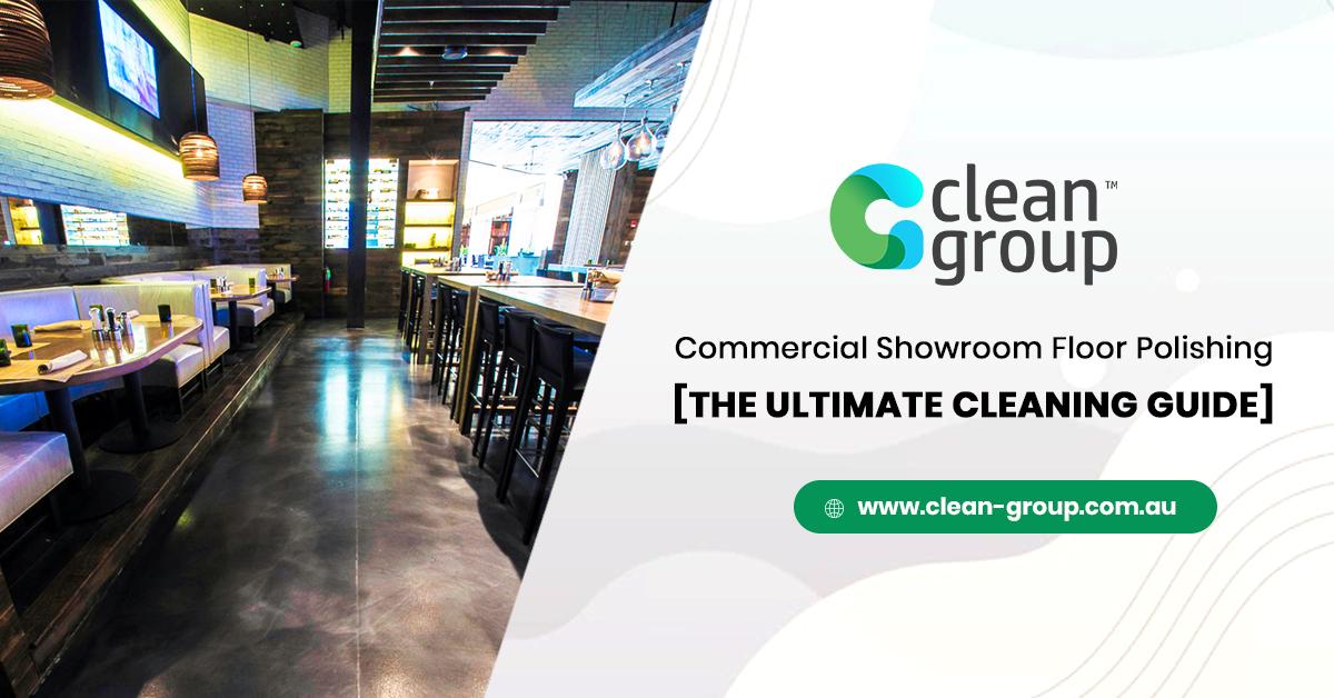 Commercial Showroom Floor Polishing